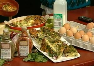 Egg and Spinach Bake