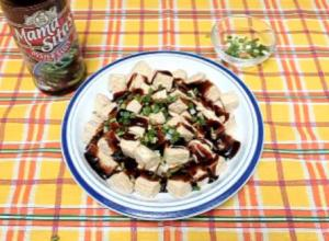 Fried Tofu with Oyster Sauce