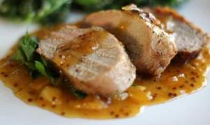 Roasted Pork With Apricots And Sweet Spices