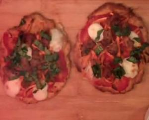Sweet Potato and Sausage Pizza