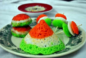 Tricolor South Indian Breakfast