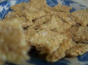 Sesame and Jaggery Snack Bars