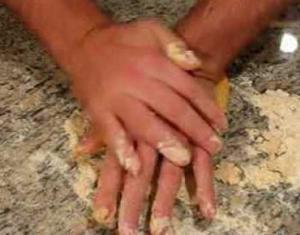 Pasta Making- Part 3, Making Dough