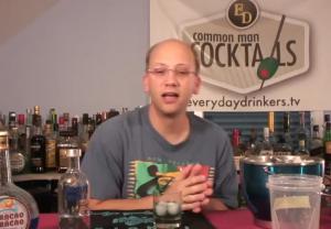 Zesty Blue Denim Cocktail