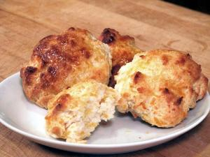 Garlic and Cheese Biscuits