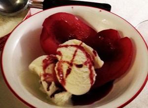 Pears Burgundy
