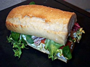 Nutritious Seafood Salad Sandwich