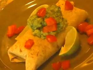 Green-N-Bean Burrito