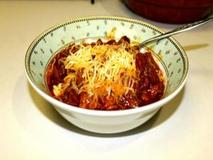 Pork and Sausage Chili