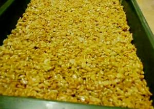 Low Cost Home Made Rice Crisps