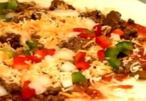 Tasty Mexican Pizza