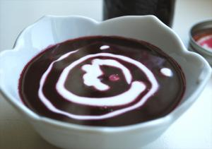 Blueberry Soup