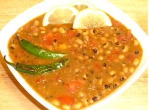 Indian Black Eyed Beans Curry