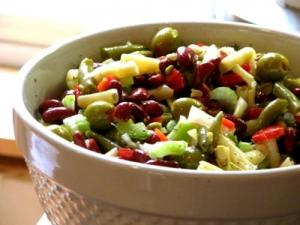 Marinated Bean Salad