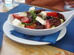 Greek Village Salad - Xoriátiki Saláta