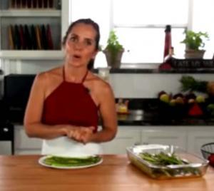 Spicy Asian Asparagus