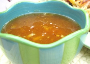Apricot Ginger Sauce