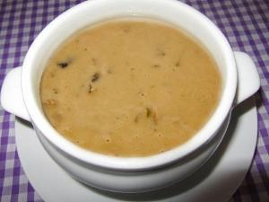 Cream of Artichoke and Mushroom Soup