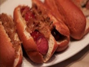 Beer Steamed Brats and Kielbasa