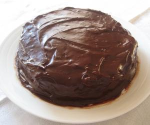 Sour Milk Chocolate Cake