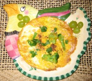 Kiddies Frittata by Chef Sonali