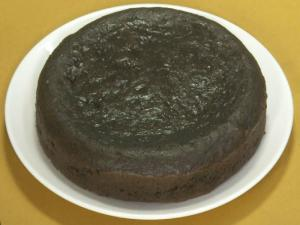 Eggless Chocolate Sponge Cake by Tarla Dalal
