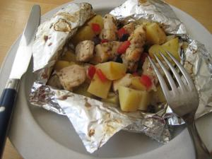 Lemon Chicken And Potatoes