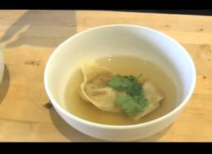 Vegetarian Won Ton Soup