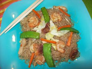 Stir Fried Mixed Vermicelli Noodles