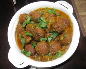 Mutton Kofta Curry