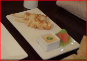 How to Make Japanese Shrimp Lollipop @ Geisha