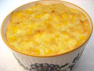 Fresh Corn Souffle