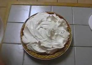 Grape Cream Pie
