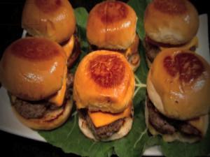 Super Bowl Sliders - Mini Burger