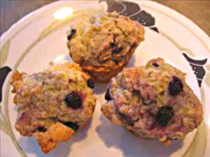 Mini Blueberry Corn Muffins
