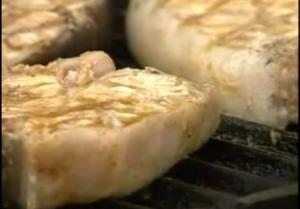 Summer Grilled Fish Fillet