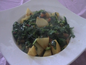 Mixed Greens Masala / Indian Vegetarian