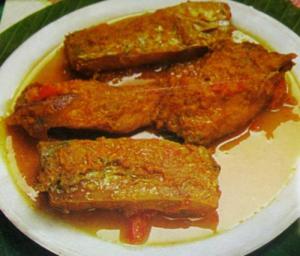 Rehu Fish Curry
