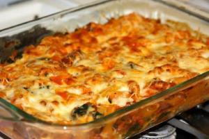Italian Seafood Casserole