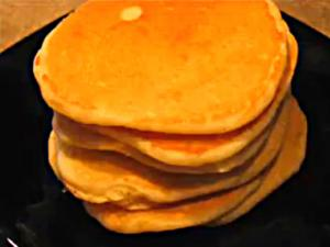 Homemade Breakfast Pancakes
