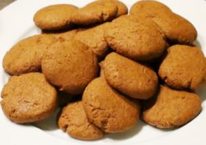 Gluten-Free Holiday Ginger Cookie
