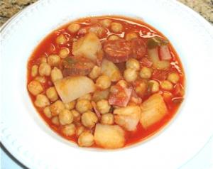 Cuban Sopa De Garbanzos