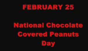 February Food Calendar Idea