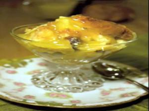 Croissant Bread Pudding with Jack Daniel's Sauce: Sweet World #4