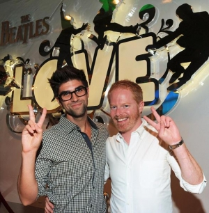 """Jesse and his partner live it up at the """"LOVE"""""""