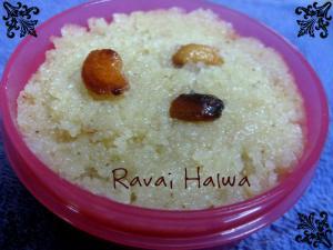 Ravai Halwa