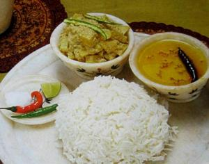 Rice thali
