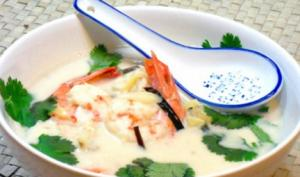 Coconut Prawns Soup Part 2 – Finishing
