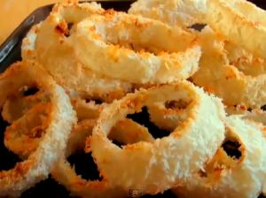 Oven Onion Rings
