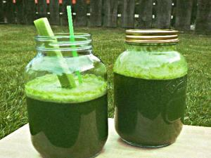 Spirulina Crunchies Sweet Chlorophyll Smoothie